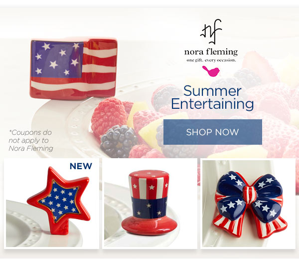 Summer Entertaining with Nora Fleming. Shop now.