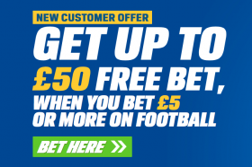 Free 50 Bet England v Columbia - Tuesday 7PM