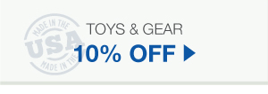 10% Off Toys & Gear