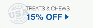 15% Off Treats & Chews