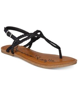 American Rag Keira Braided Flat Sandals Created for Macy's