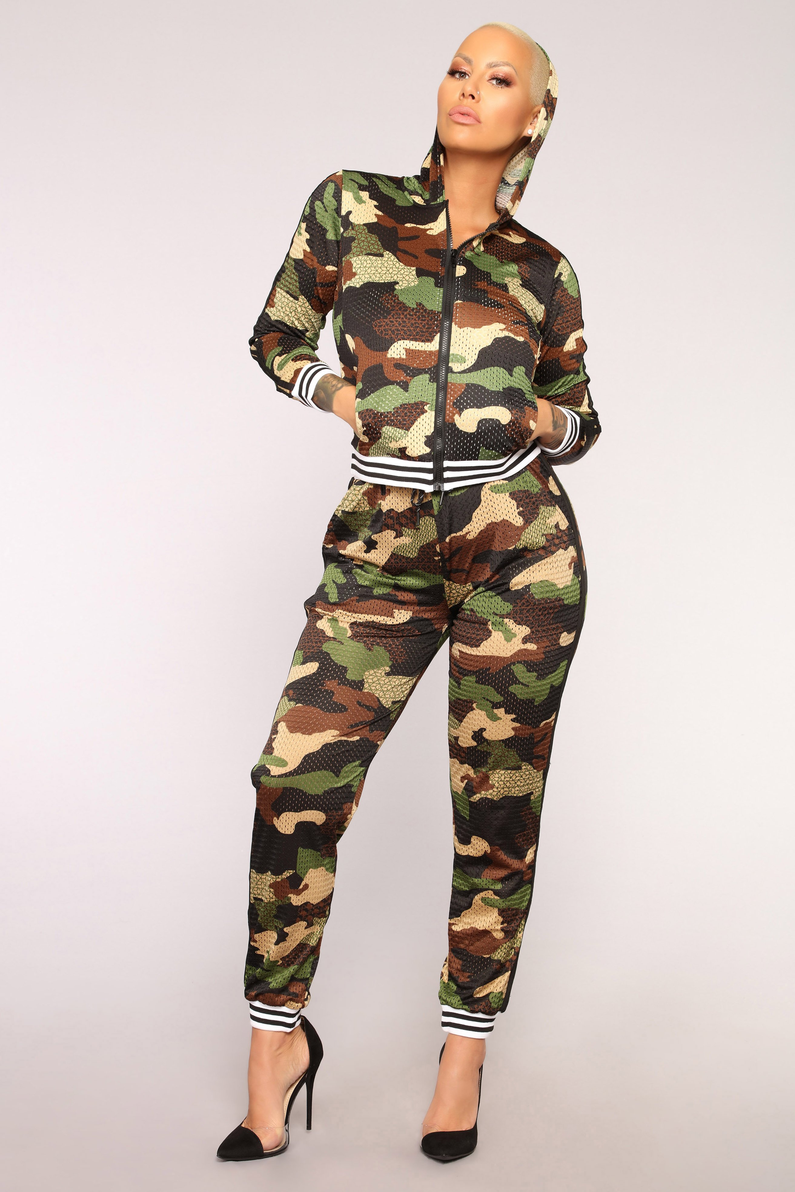 Hidden From The Haters Jogger - Olive