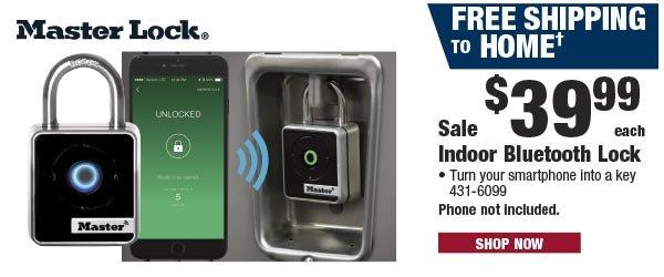 MasterLock Indoor Bluetooth Lock