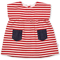 Wonderkids - Red Stripes Dress