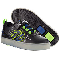 Heelys - Pow X2 L.Black, Blue & Green