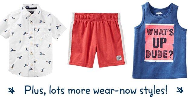 Plus, lots more wear-now styles!