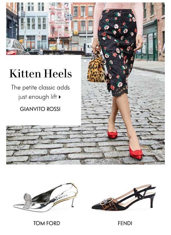 Shop Kitten Heels