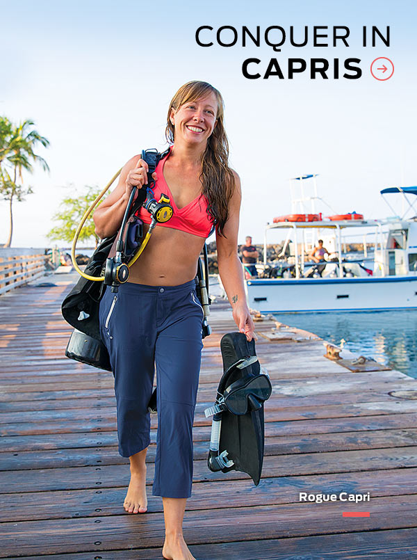 Conquer It In Capris >