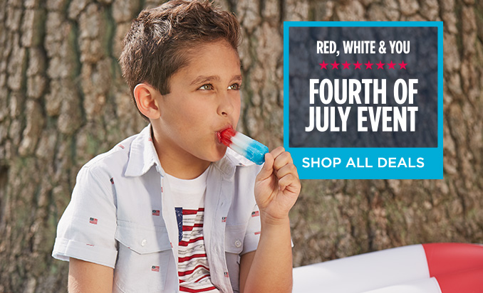 RED, WHITE & YOU | FOURTH OF JULY EVENT | SHOP ALL DEALS