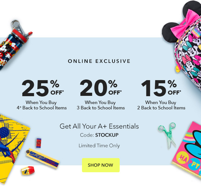 Save Up to 25% on A+ Essentials | Shop Now