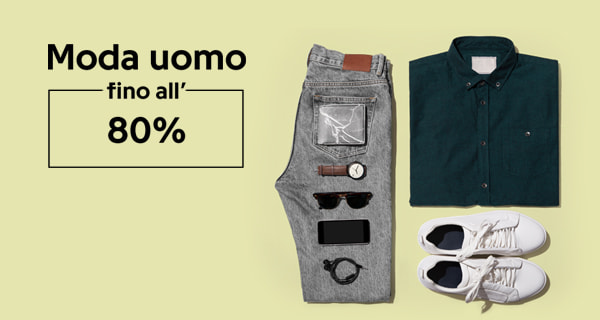 MARKETPLACE OCCASIONI UOMO FINO ALL'80%