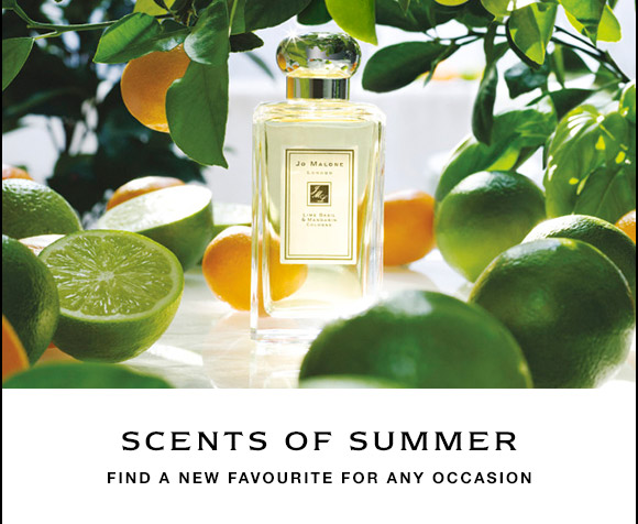 SCENTS OF SUMMER FIND A NEW FAVOURITE FOR ANY OCCASION
