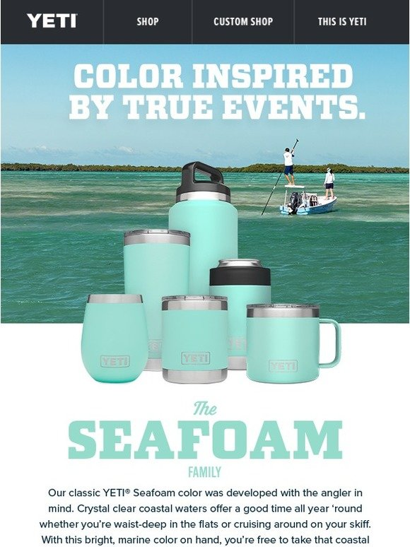 YETI: Seafoam for Summer and All Seasons | Milled