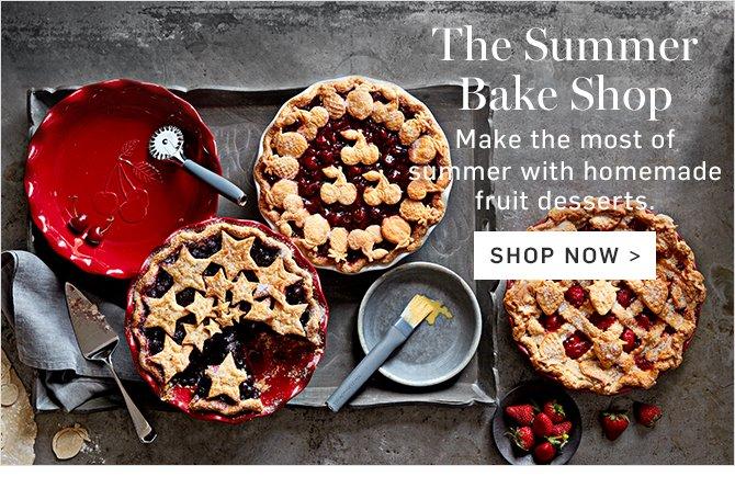 The Summer Bake Shop - SHOP NOW