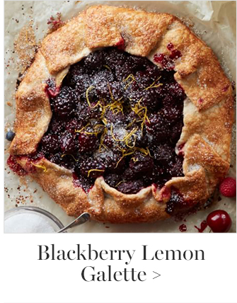 Blackberry Lemon Galette