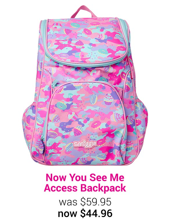 Now You See Me Access Backpack