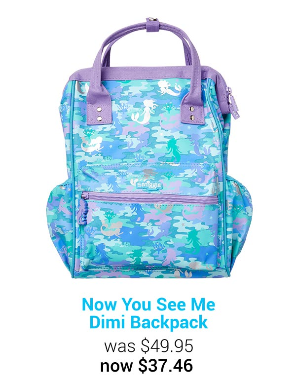 Now You See Me Dimi Backpack