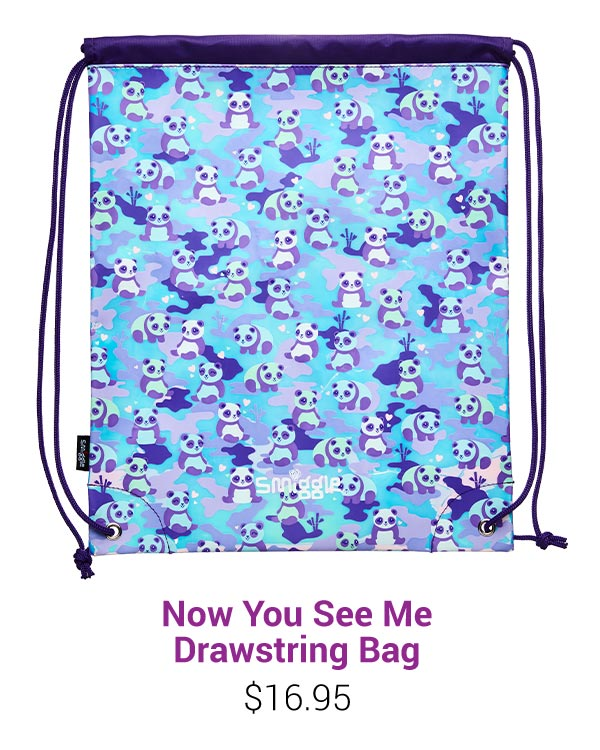 Now You See Me Drawstring Bag
