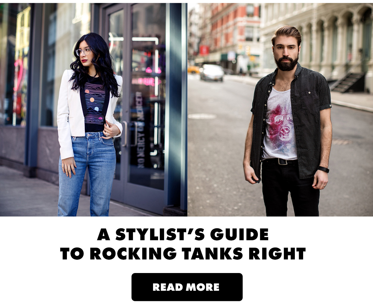 A Stylist's Guide to Rocking Tanks Right