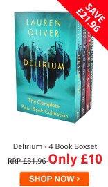 Delirium - 4 Book Boxset