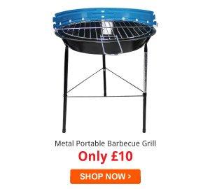 Metal Portable Barbecue Grill