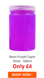 Neon Purple Super Slime - 500ml