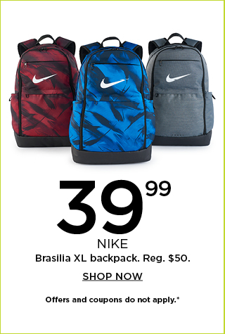 $39.99 Nike backpack. Shop now.