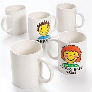 Large Porcelain Mugs