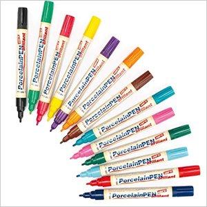Brilliant Porcelain Paint Pens