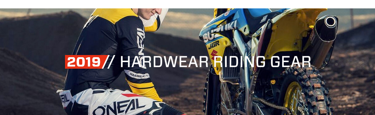 2019 O'Neal Hardwear Riding Gear
