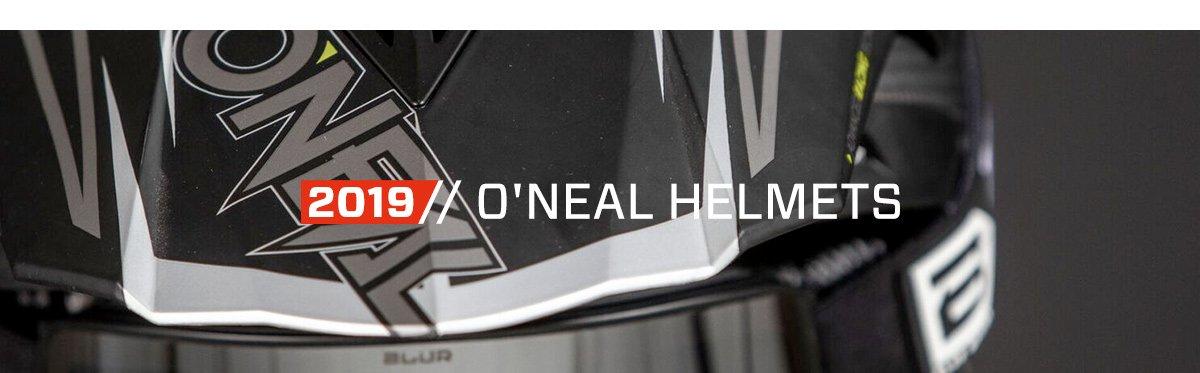 2019 O'Neal Helmets