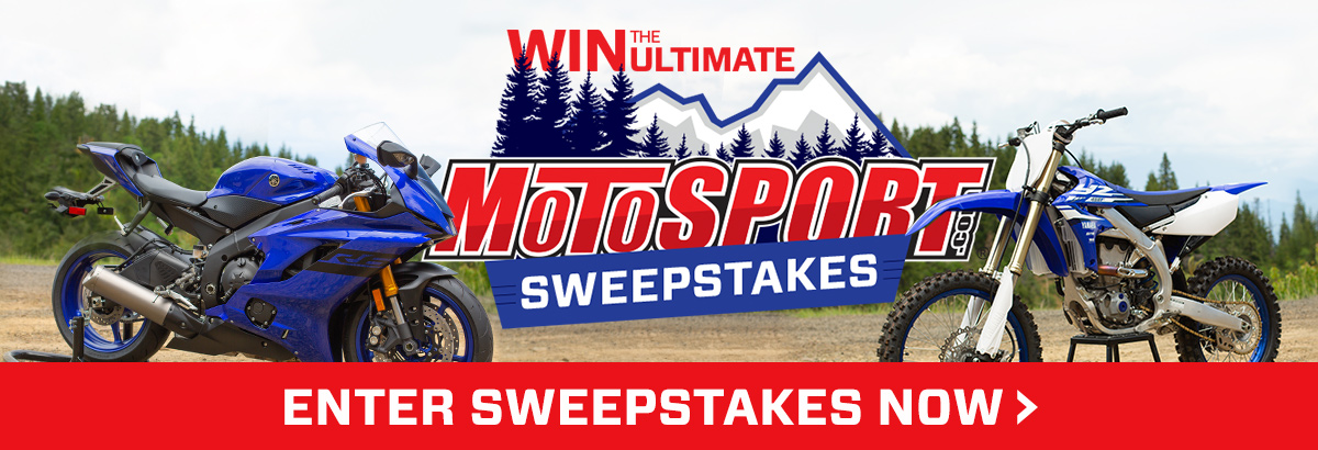 Enter To Win The Ultimate MotoSport.com Sweepstakes >