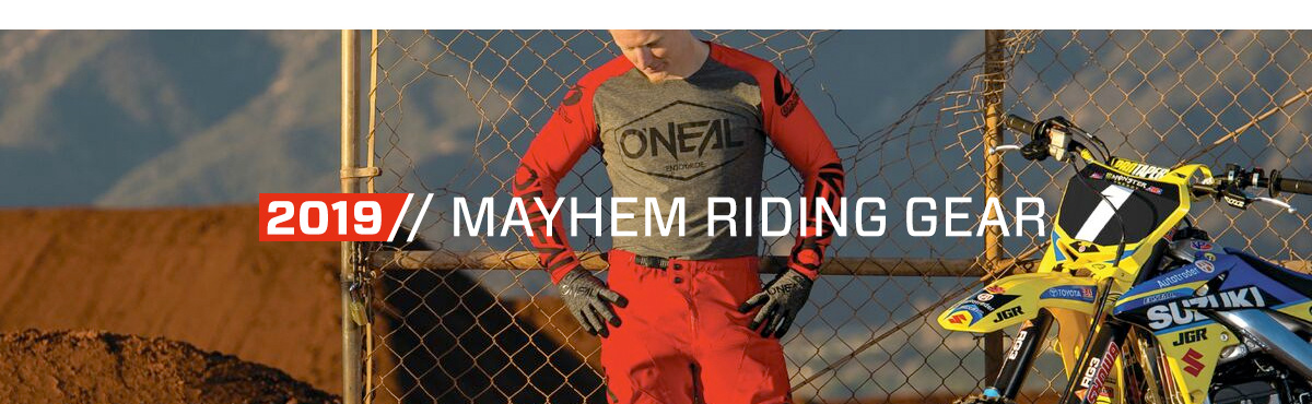 2019 O'Neal Mayhem Riding Gear