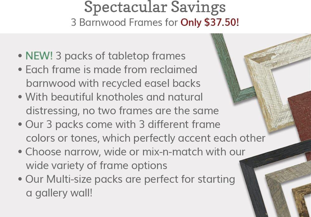 Spectacular Savings!