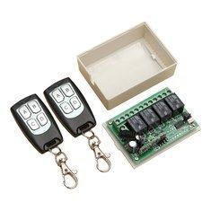 Geekcreit 315Mhz 12V 4CH Wireless Remote Control Switch