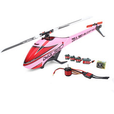 ALZRC Devil 380 FAST RC Helicopter Premium Pink Version Super Combo