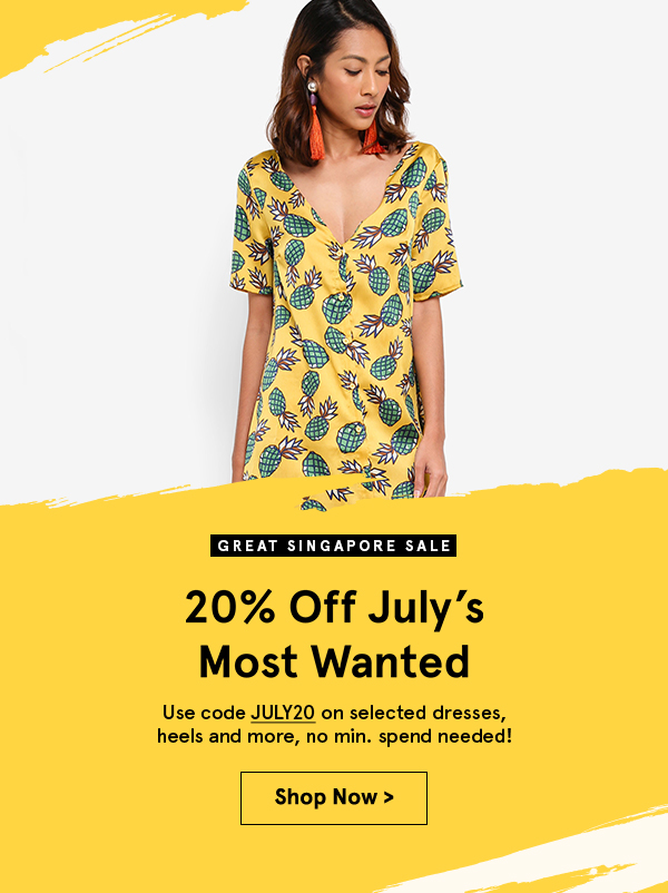 Extra 20% off. Use code 20JULY. no min spend. Shop Now