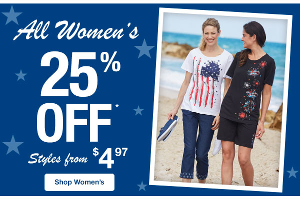 All Women's On Sale!