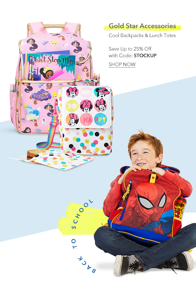 Backpacks & Lunch Totes that make the grade | Shop Now