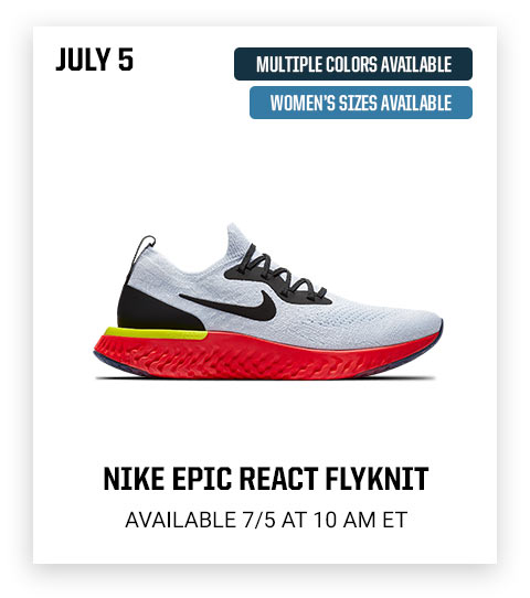 70462e8e8a5e3 Eastbay  Launch Preview  Jordan Retro 1 + Nike Epic React launching ...