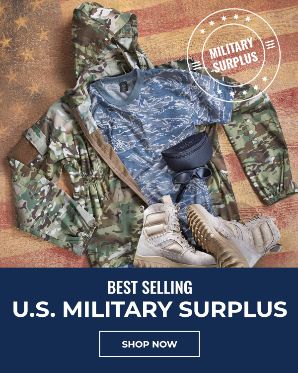 Shop the Best Selling U.S. Military Surplus