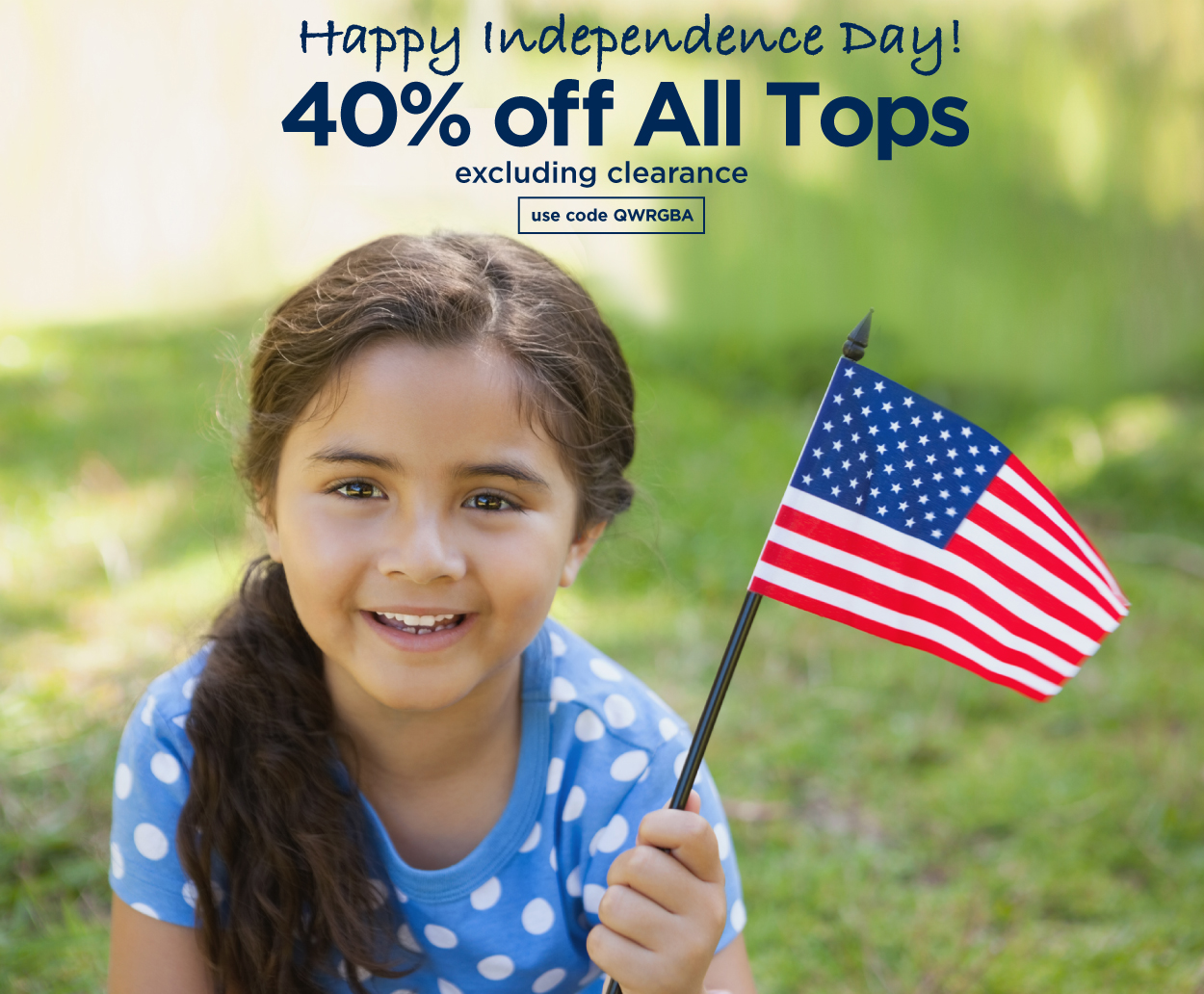 SAVE 40% OFF TOPS