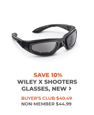 Save 10% New Wiley X Shooters Glasses