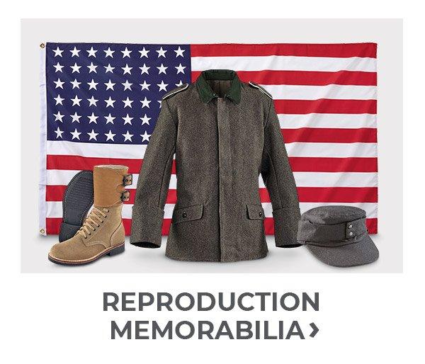 Shop Reproduction Memorabilia