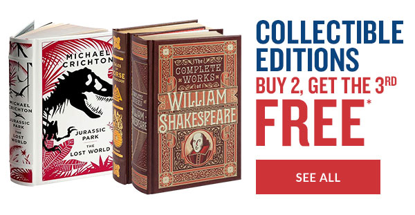 COLLECTIBLE EDITIONS: BUY 2, GET THE 3RD FREE* - SEE ALL