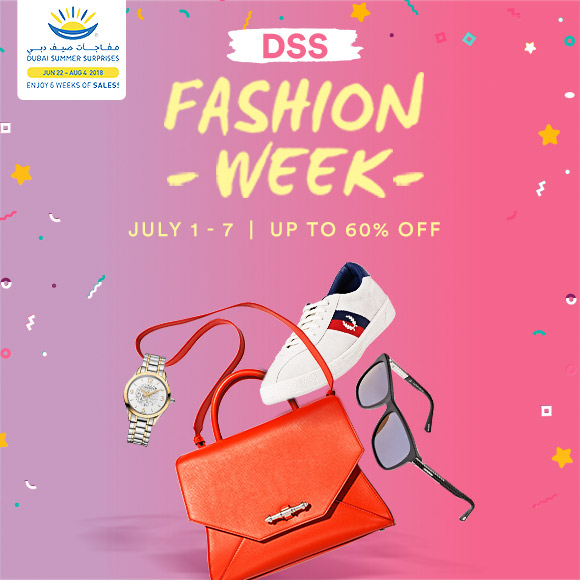 DSS Fashion Week - July 01 - 07