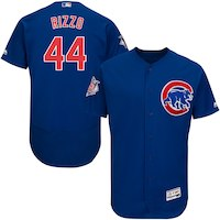Anthony Rizzo Chicago Cubs Majestic Flex Base Authentic Collection Player Jersey - Royal
