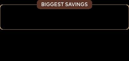 BIGGEST SAVINGS | $15 OFF 6 Boxes | $7 OFF 4 Boxes | $3 OFF 2 Boxes