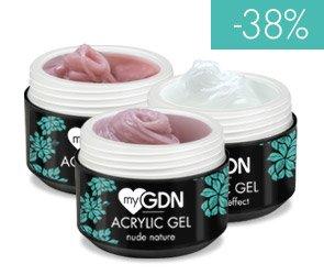 myGDN Acrylic Gele - Stabiler als Gel, flexibler als Acryl 15ml