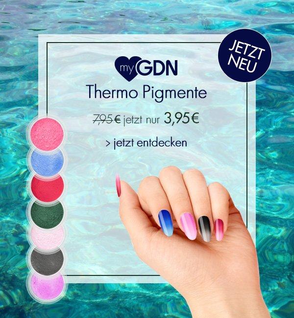 NEU: myGDN Thermo Pigmente